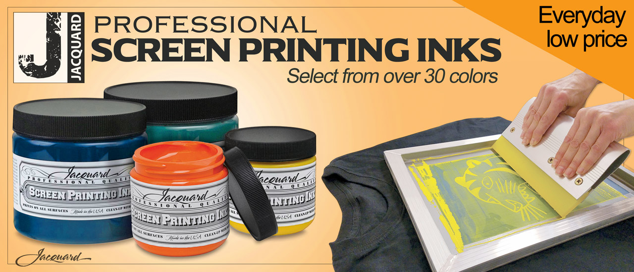 Jacquard Screen Ink