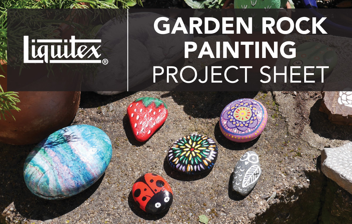 Garden Rock Painting Project
